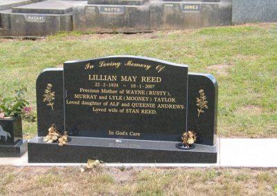 Reed Lillian 121207 Cobden Lawn